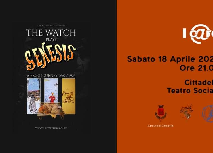 """Concerto dei """"The Wach"""" Tributo dei Genesis – I C@re """" La Speranza mette radici"""""""