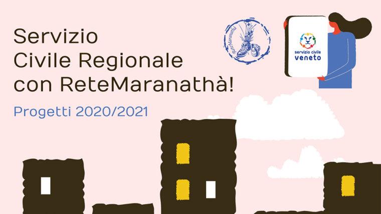 Servizio Civile Regionale con ReteMaranathà